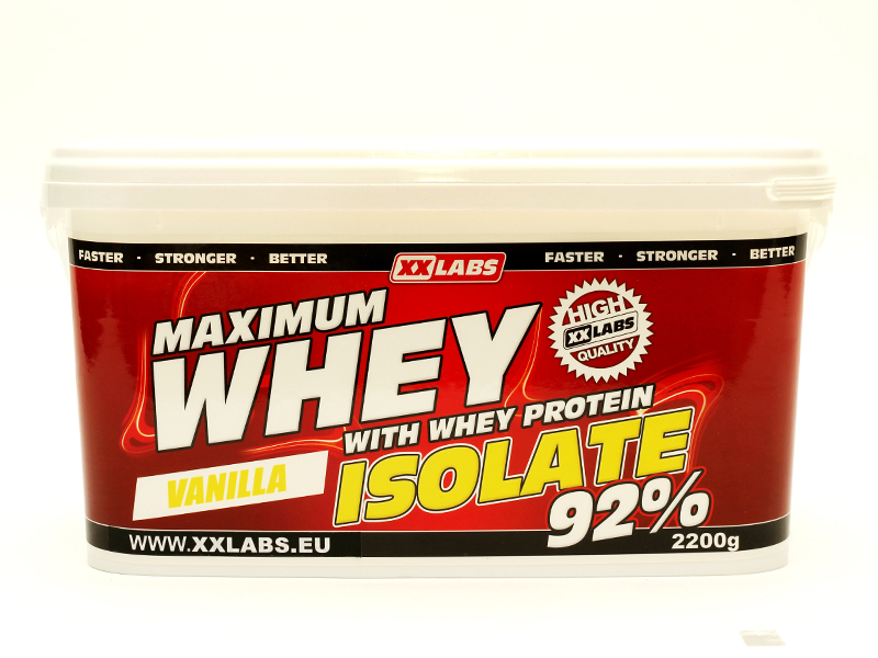 Maximum Whey Protein Isolate 92 XXTREME NUTRITION (2200g)
