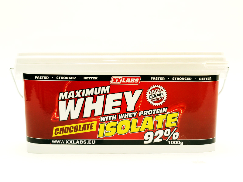 Maximum Whey Protein Isolate 92 XXTREME NUTRITION (1000g)