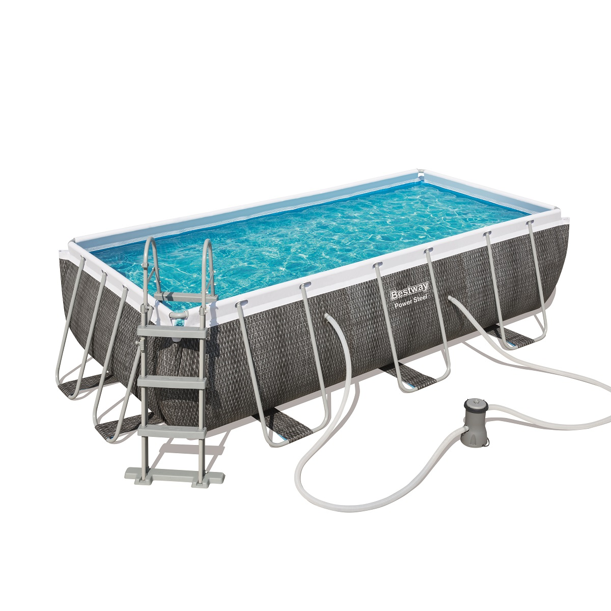 Bazén BESTWAY Power Steel Pool 404 x 201 x 100 cm set 56721