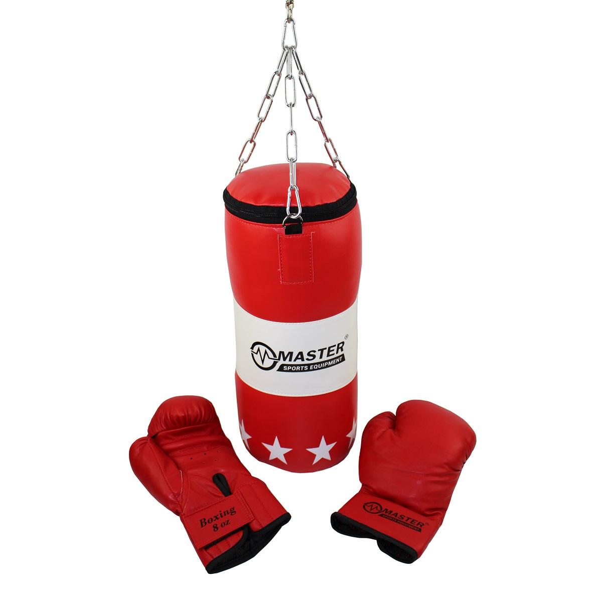 7a14be946 Boxovací set MASTER detský (vrece + rukavice) empty