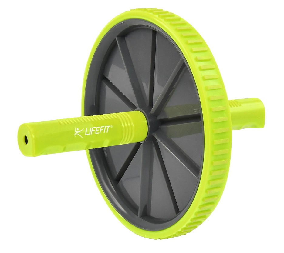 Posilovací kolečko LIFEFIT EXERCISE WHEEL SINGLE