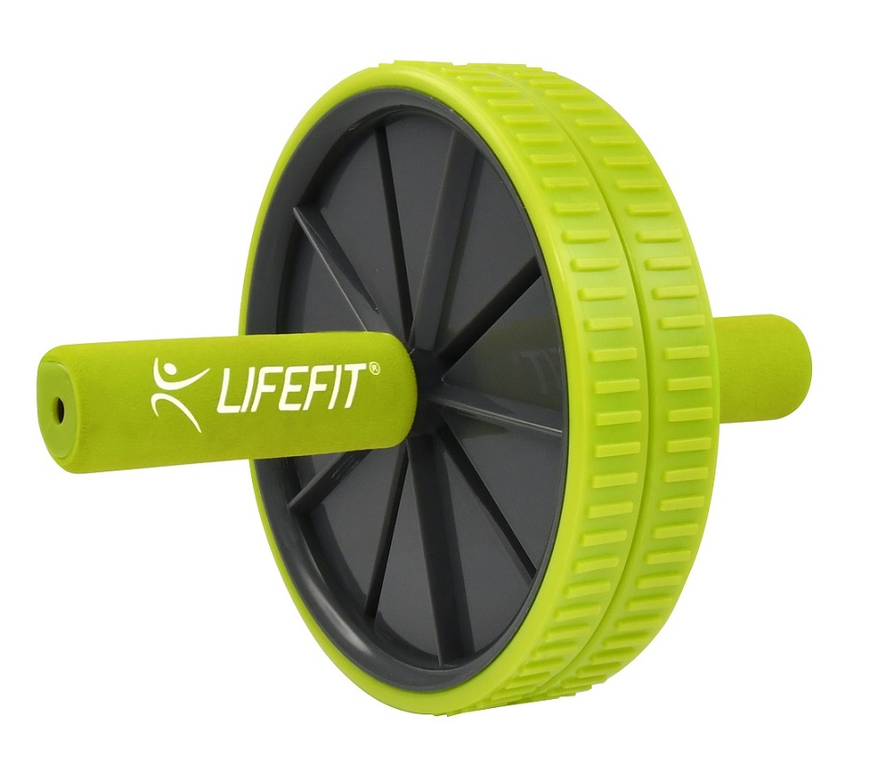 Posilovací kolečko LIFEFIT EXERCISE WHEEL DUO