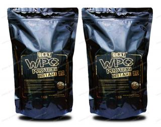 WPC Protein 80 INSTANT Best Nutrition 1 kg 1+ 1 Zadarmo