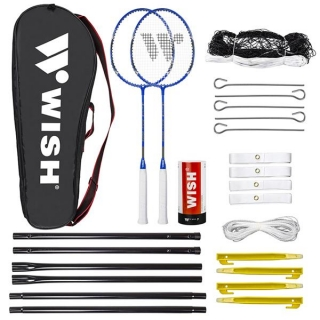 Badminton set WISH 5566 modrý
