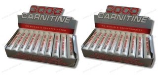 Carnitine 3000 20x25ml BEST NUTRITION 1+1 Zadarmo