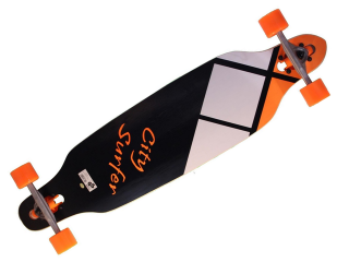 Longboard Spartan City Surfer