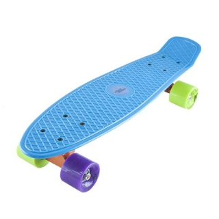 PENNYBOARD FISHBOARD NILS EXTREME BLUE