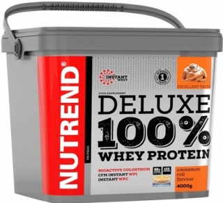 DELUXE 100% WHEY Nutrend 4000 g