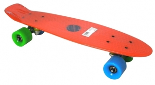 Pennyboard Fishboard Axer Red