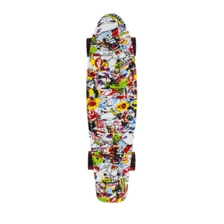 PENNYBOARD FISHBOARD MULTICOLOR NILS EXTREME