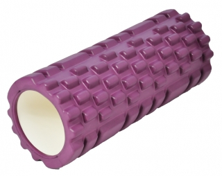 Fitness valec AXER purple 33cm