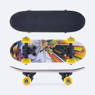 Skateboard Spokey BLOXY mini 43,x12,5cm