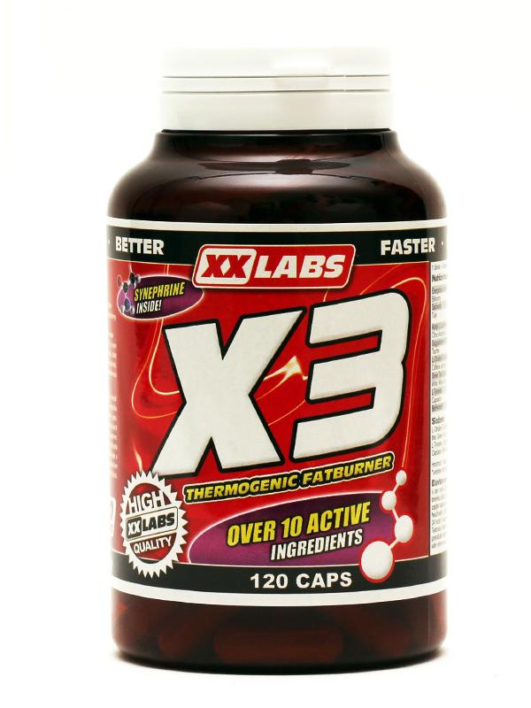 X3 - Thermogenic Fatburner XXLabs (120 kapsúl)